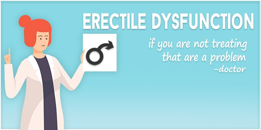NOT treating Erectile Dysfunction is a Problem – Here's why!